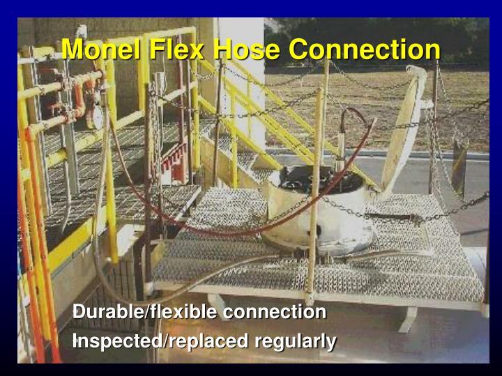 Monel Flex Hose Connection