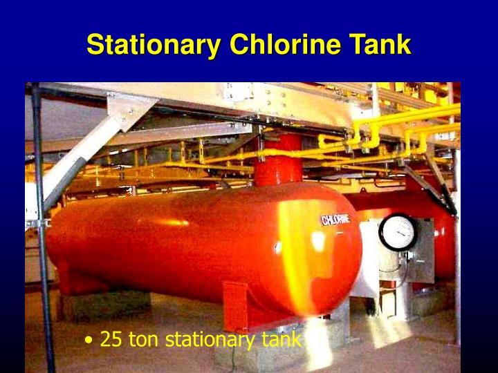 Stationary Chlorine Tank