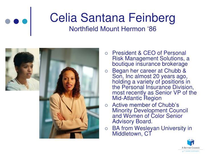 Celia Santana Feinberg