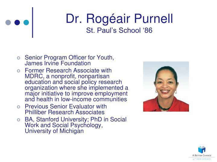 Dr. Rog
