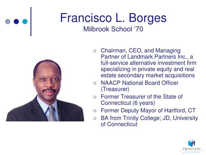 Francisco L. Borges