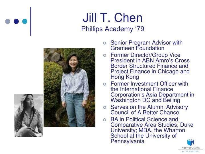 Jill T. Chen