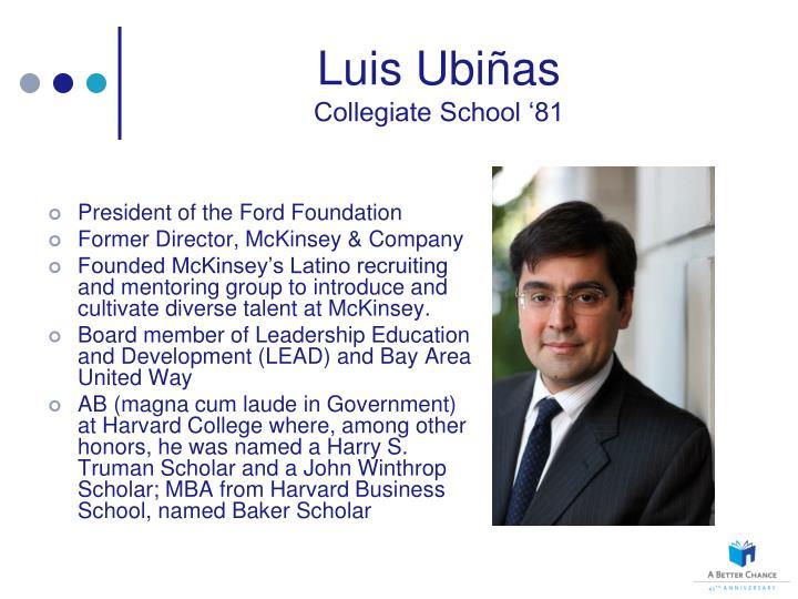 Luis Ubi