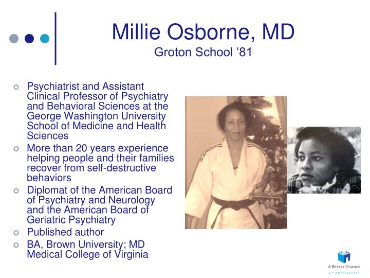 Millie Osborne, MD