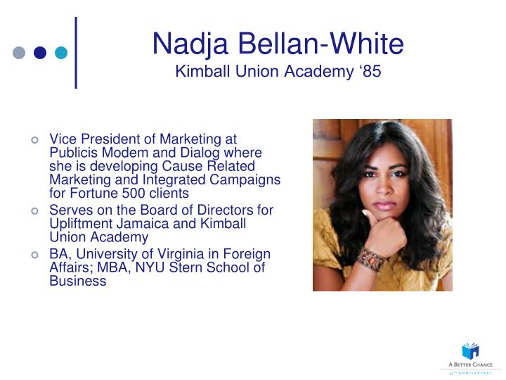 Nadja Bellan-White