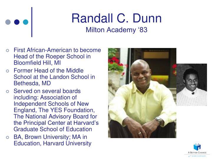 Randall C. Dunn