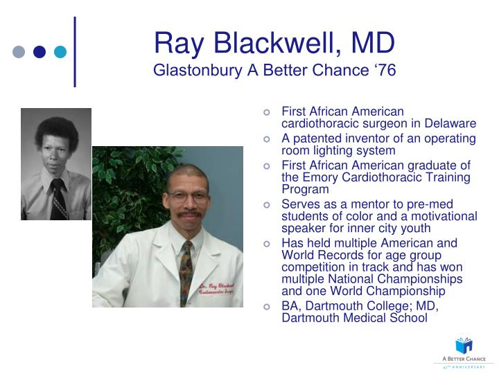 Ray Blackwell, MD