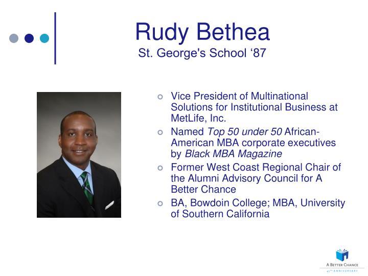 Rudy Bethea