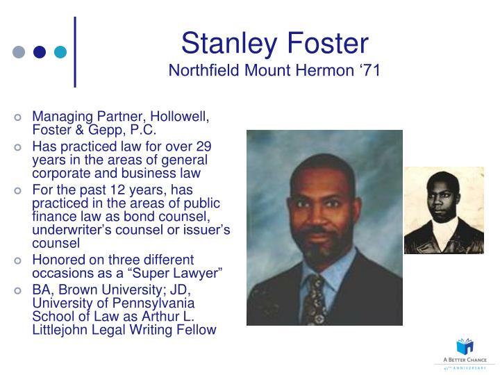 Stanley Foster