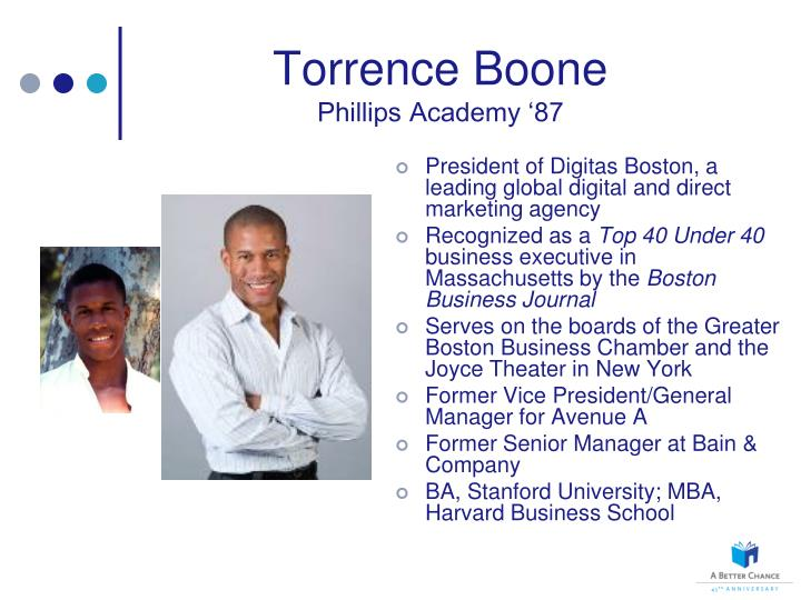 Torrence Boone