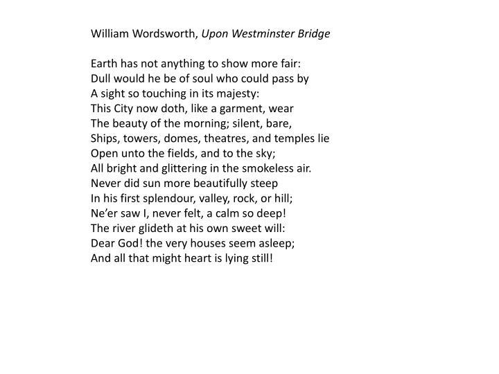 William Wordsworth,