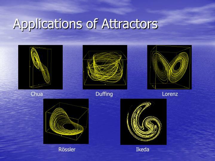 Applications of Attractors