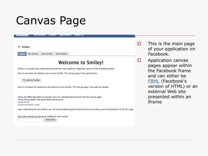 Canvas Page