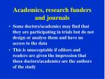 academics research funders and journals1