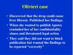 olivieri case1