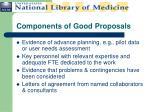 components of good proposals1
