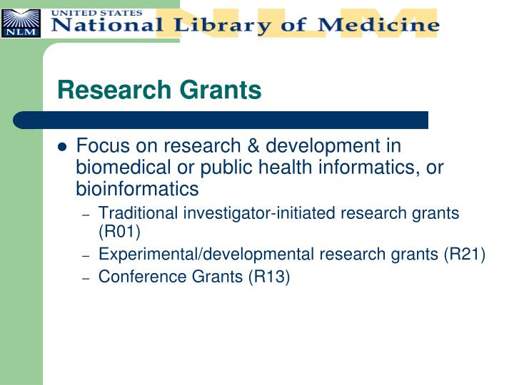 Research Grants