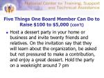 five things one board member can do to raise 100 to 5 000 con t2