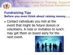fundraising tips before you even think about raising money15