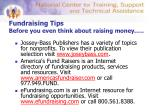 fundraising tips before you even think about raising money18