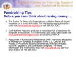 fundraising tips before you even think about raising money19