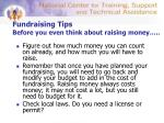 fundraising tips before you even think about raising money2