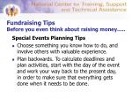fundraising tips before you even think about raising money8