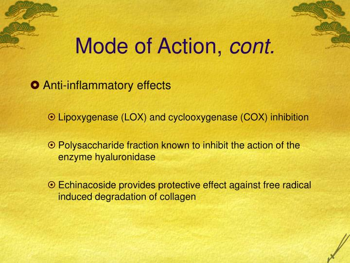 Mode of Action,
