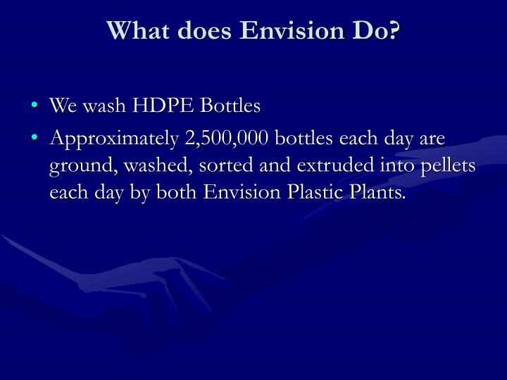 What does Envision Do?