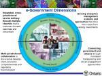 e government dimensions