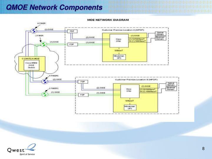 QMOE Network Components
