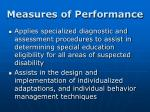 measures of performance1