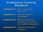 professional teaching standards1