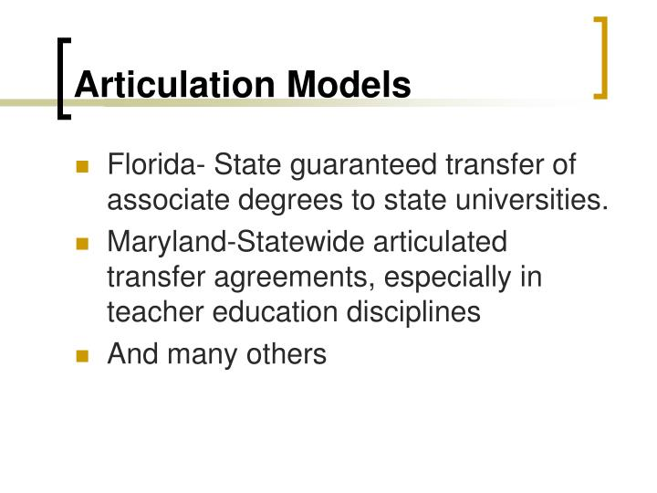 Articulation Models