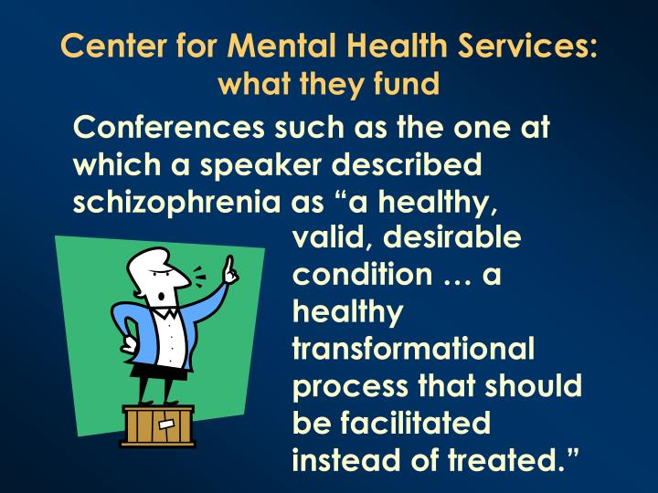 Center for Mental Health Services:
