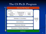 the cs ph d program