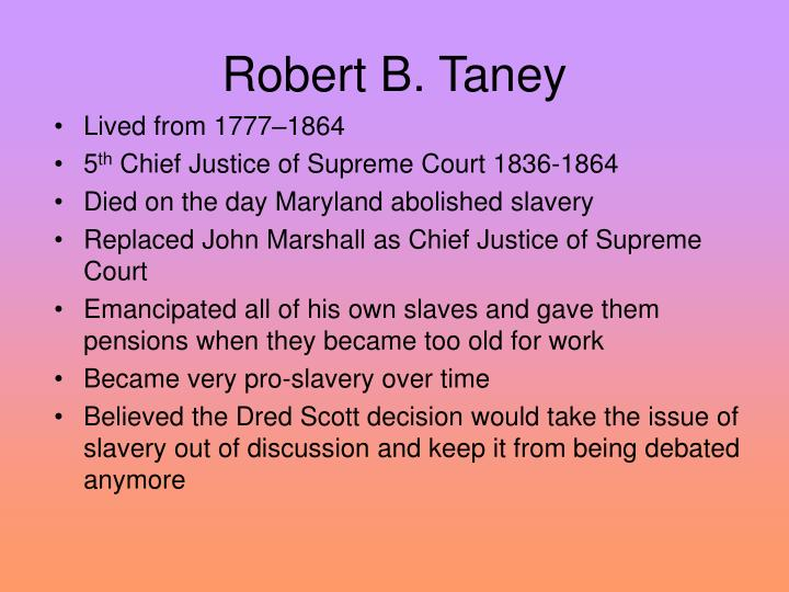 Robert B. Taney