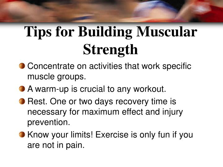 Tips for Building Muscular Strength