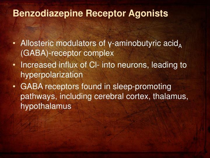 Benzodiazepine Receptor Agonists