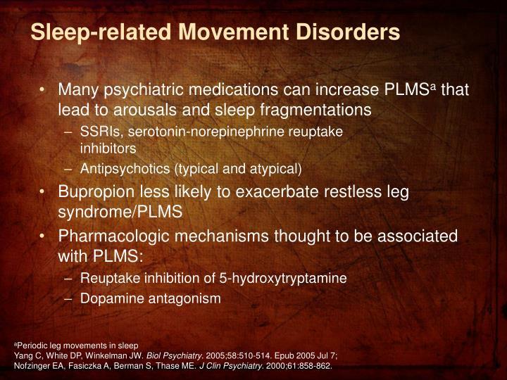 Sleep-related Movement Disorders