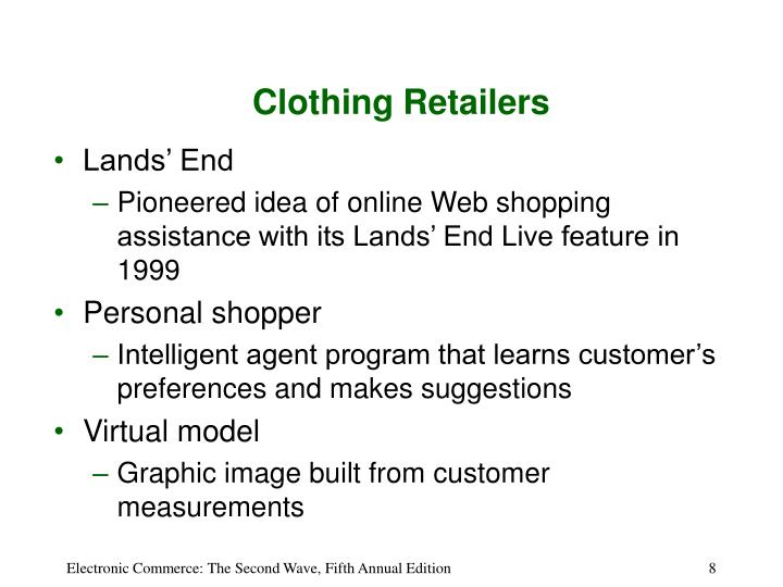 Clothing Retailers