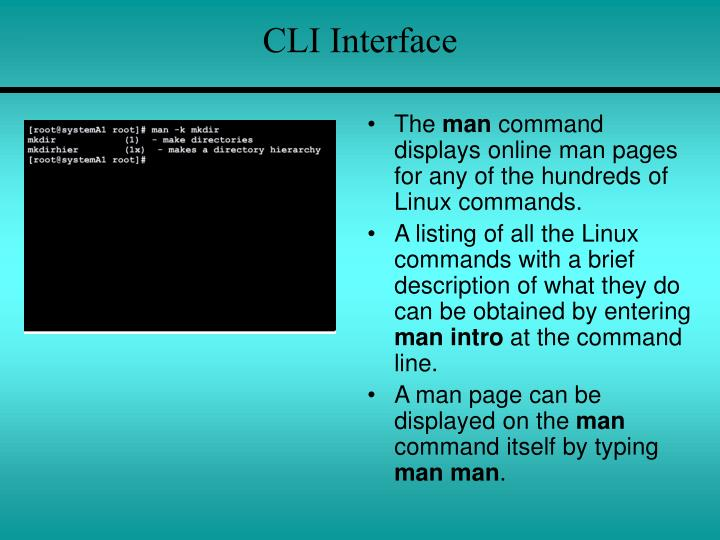 CLI Interface