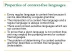 properties of context free languages1