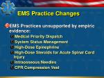 ems practice changes1
