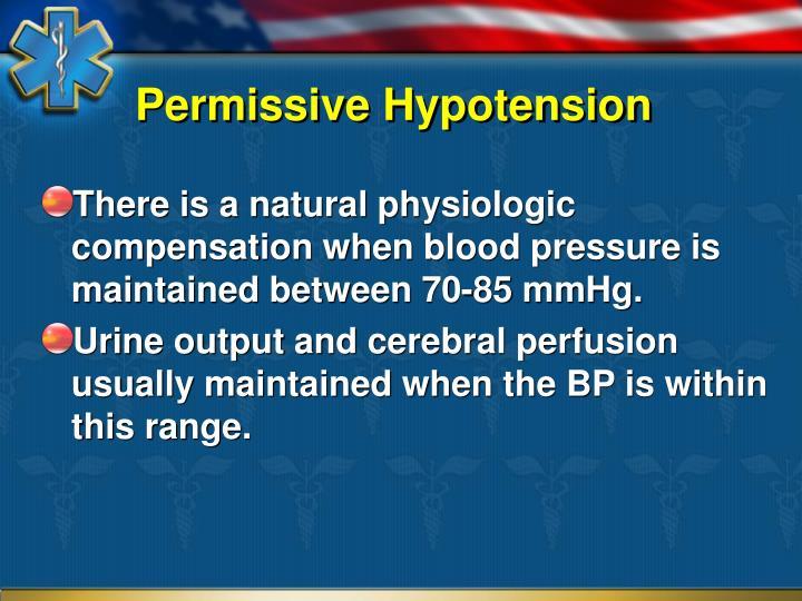 Permissive Hypotension