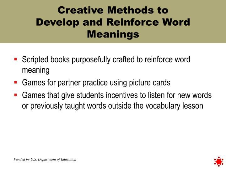 Creative Methods to