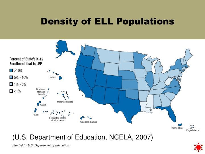 Density of ELL Populations