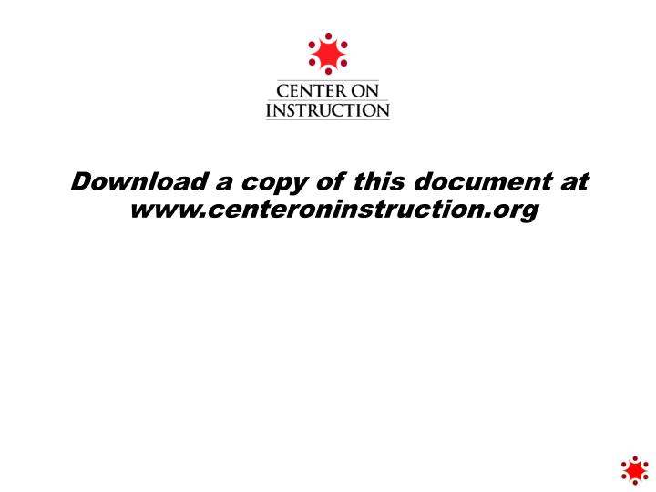Download a copy of this document at