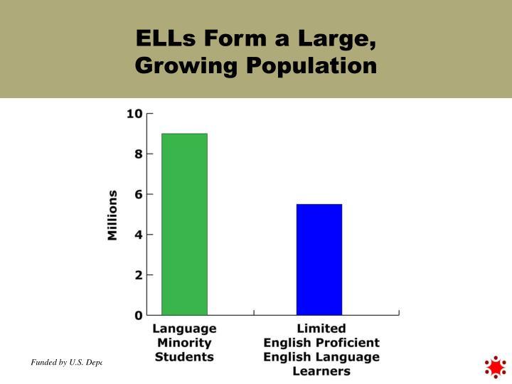 ELLs Form a Large,