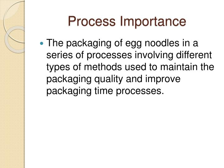 Process Importance